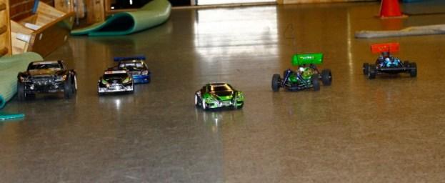 Race i aulaen på Seiersten